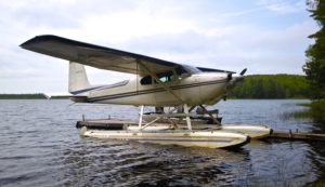 Seaplane Facts - Cessan 180 Seaplane on Floats