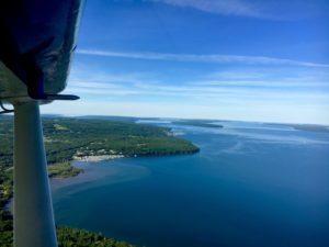 Seaplane tours ride marina view