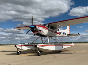 shark aviation seaplane N19D in lake cumberland kentucky