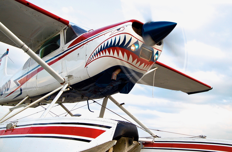 The Shark Seaplane - A Cessna 185 Seaplane on Amphibious Floats