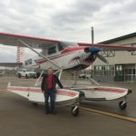 brad fenster seaplane pilot and seaplane instructor with shark aviation lexington kentucky