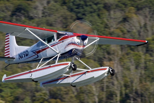 Seaplane Training in Kentucky and Ohio in Cessna 185