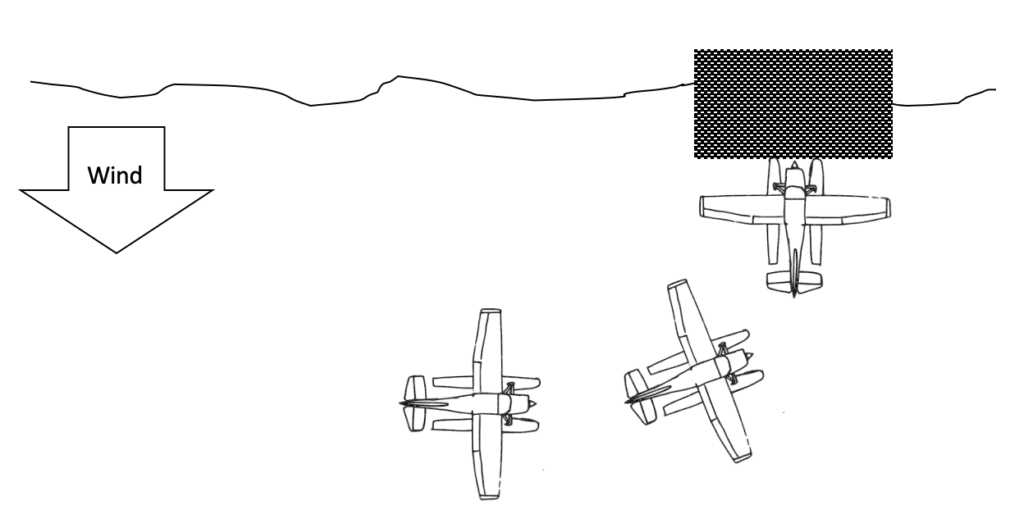 securing the seaplane - ramping example